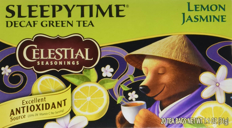 Celestial Seasonings Sleepytime Decaf Lemon Ranking TOP8 Tea Green Jas - Bags Spring new work one after another