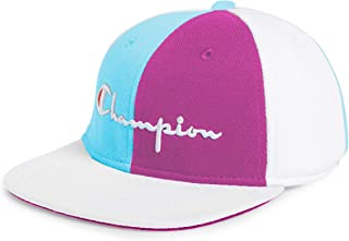 Champion LIFE Mens H0820 Reverse Weave Baseball Hat - Colorblock Baseball Cap