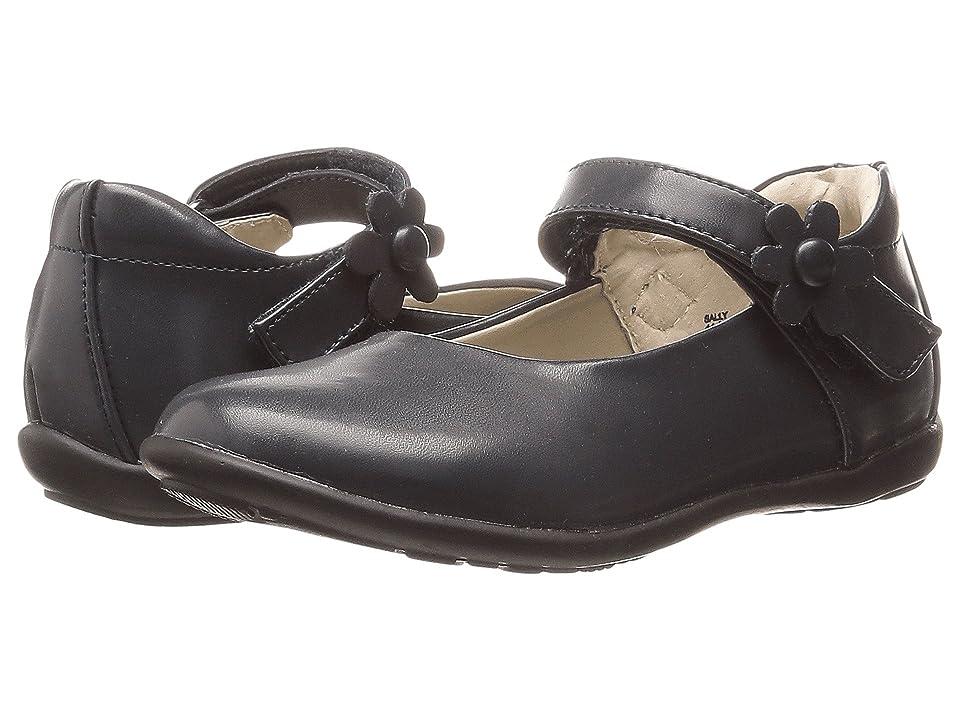 Jumping Jacks Kids Sally Balleto (Toddler/Little Kid/Big Kid) (Navy Smooth Leather) Girls Shoes