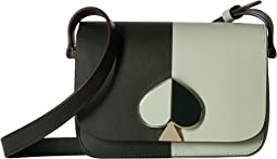 Nicola Bicolor Small Flap Shoulder