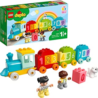 LEGO 10954 DUPLO Number Train Toy Learning Numbers for 1 .5 - 2 Years Old, Preschool Educational Set
