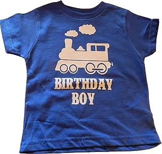 Boys Train Birthday T-Shirt