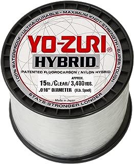 Yo-Zuri Clear Hybrid Fishing Line 15lb, 1 lb