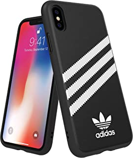 adidas OR Moulded Case PU FW18 for iPhone X/Xs, Black