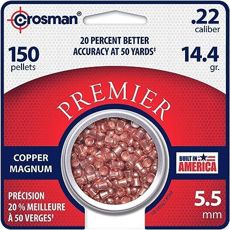 Bulk H/&N 5.50 .22 Coppa-Point Copper Coated Pellets  20 x 200=4000 pellets