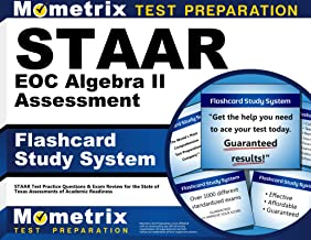 STAAR EOC Algebra II Assessment Flashcard Study System: STAAR Test Practice Questions & Exam Review for the State of Texas Assessments of Academic Readiness (Cards)