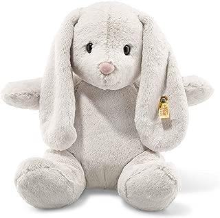 Steiff Soft and Cuddly Light Grey Rabbit - 16