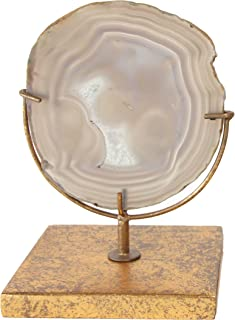 Best agate slice on stand Reviews