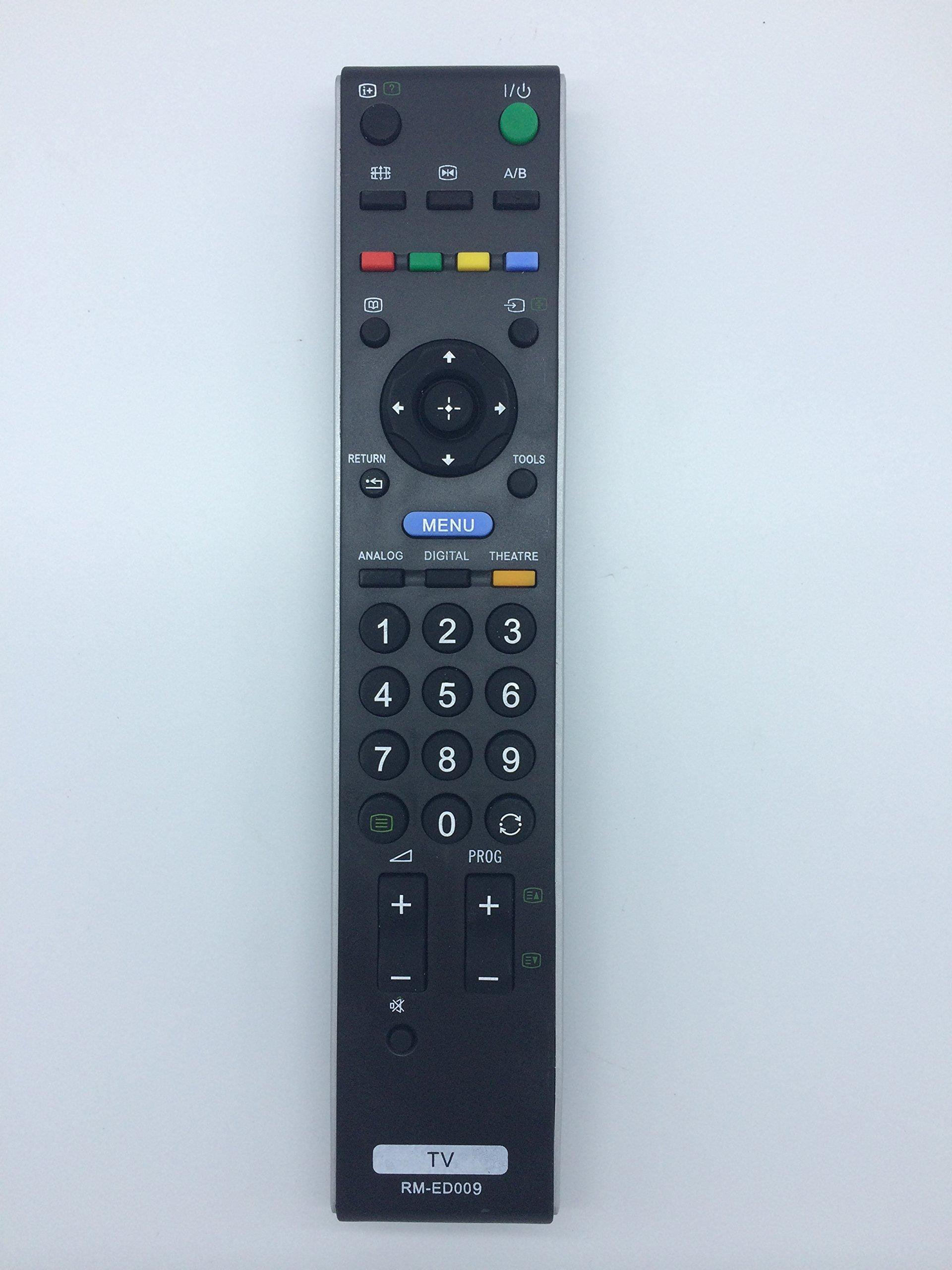 Vinabty para televisor mando a distancia RM ED009 compatible con Sony KDL32S2030UKA KDL32S2510 KDL32S2510E KDL32S2520 KDL32S2520E KDL32S2530 KDL32S2530E KDL32S2800 KDL32S2810 KDL32S2820 KDL32S3000: Amazon.es: Electrónica