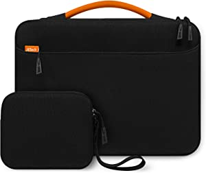 JETech Laptop Sleeve for 13.3-Inch Tablet with Extra Bag, Waterproof MacBook Case with Portable Handle, Compatible with 13