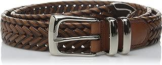 brown woven waist belt