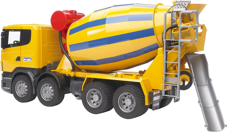 Bruder Scania RSeries Cement Mixer Truck