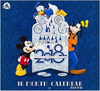 Walt Disney World 2017 - 2018 16 Month Photo Calendar The Year to be Here
