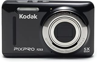 Kodak PIXPRO Friendly Zoom FZ53-BK 16MP Digital Camera...