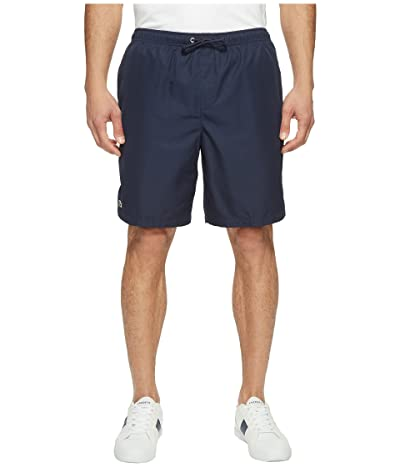 Lacoste Sport Lined Tennis Shorts (Navy Blue) Men