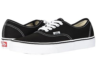 Vans Authentictm Core Classics (Black) Skate Shoes