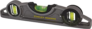 Stanley 0-43-609 - Nivel Torpedo FatMax® Pro™ con base magnética 25cm