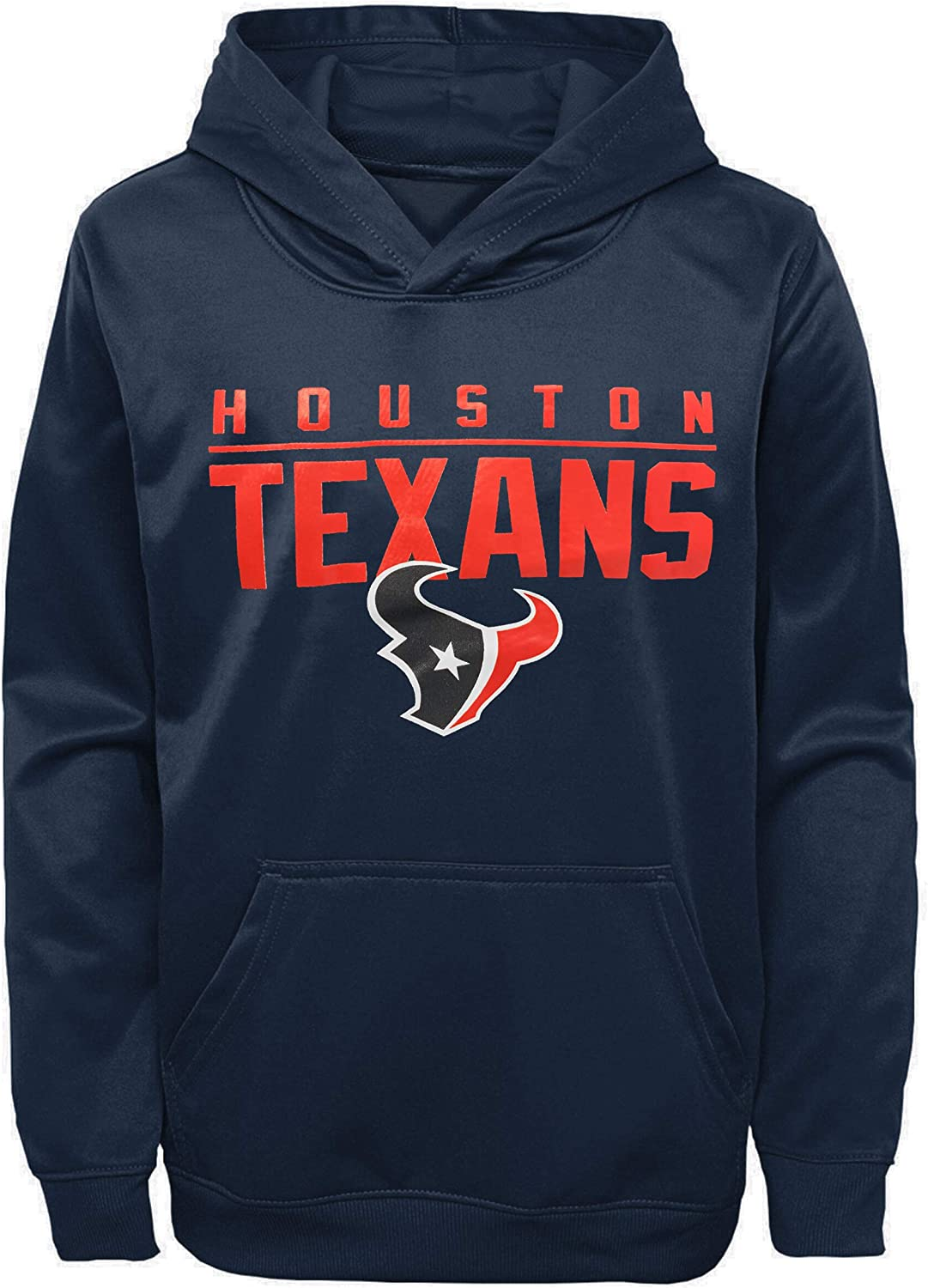 OuterStuff NFL Youth 8-20 Performance Pacesetter Pullover Sweatshirt Hoodie