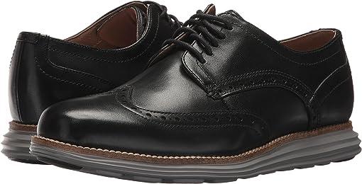 Black Leather/Ironstone