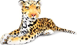 VIAHART Leah The Leopard | 17 Inch (Not Including Tail Length!) Stuffed Animal Plush | by Tiger Tale Toys