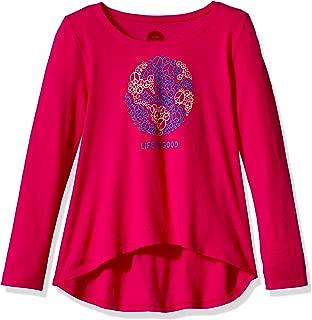 Life is Good G Long Sleeve Sc World Peace Poppnk T-Shirt,