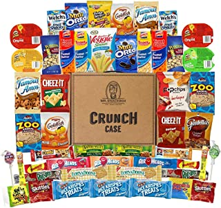 c7cfce384af2 Mega Snacks (50 Count) Variety Care Package Gift Box - College Students