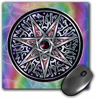 3dRose LLC 8x 8x 0.25Inches Mouse Pad, estrella de Fey Pagan Wiccan Magickal Sigil Art (MP 156824_ 1)