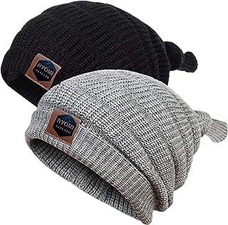 RYOMI SEIKATU Baby Boy Beanie Hat Winter Warm Lamb Fleece Lined Hat Kids Knit Cap Girls Boys