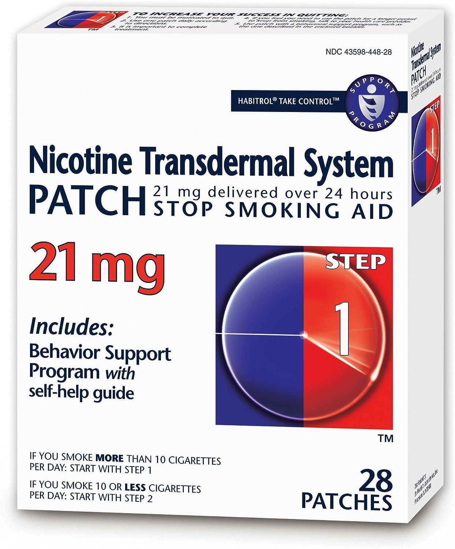 Habitrol Nicotine Transdermal System Charlotte Mall Patch Aid Ranking TOP16 Smoking Stop