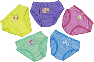 8cccde4abd Childrens Character Disney Princess Cotton Briefs Pants Slips Underwear  Five Pack 2-3 Up to