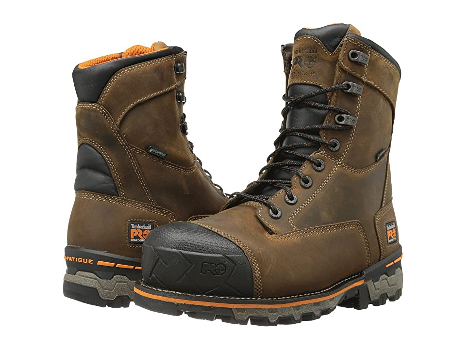 Timberland PRO Boondock 8 Comp Toe WP (Brown) Men