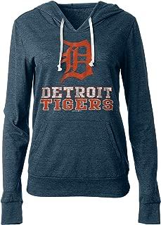 New Era Detroit Tigers Women's Playoff Tri-Blend Pullover Hoodie