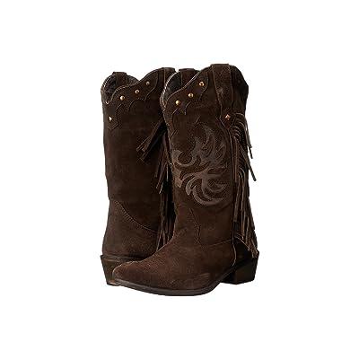 Roper Fringes (Brown) Cowboy Boots