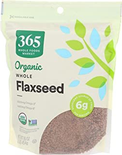 365 by Whole Foods Market, Organic Flaxseed, Whole, 16 Ounce