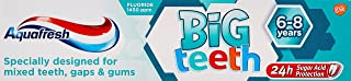 Aquafresh Kids Toothpaste, My Big Teeth Toothpaste for Children 6+ Years, 50 ml