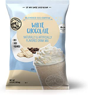Big Train Blended Ice Coffee, White Chocolate Latte, 3.5 Pound, Powdered Instant Coffee Drink Mix, Serve Ho...