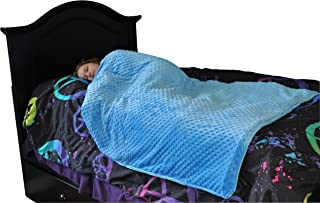 Premium Kids Weighted Blanket - Child Kid Weights and Sizes (5-6.5 LB (36
