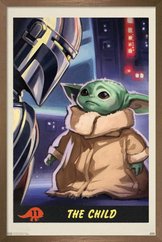 cheap Trends International Star Wars: The Mandalorian 1 Child - Number discount