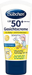 Bübchen Sensitiv Sonneschutz Gesichtscreme LSF 50 1 x 50 ml