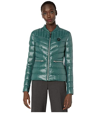 MACKAGE Petra Zip-Up Puffer Jacket (Green) Women