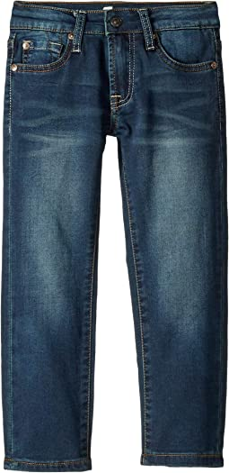 Slimmy Knit Denim in Monument (Little Kids/Big Kids)