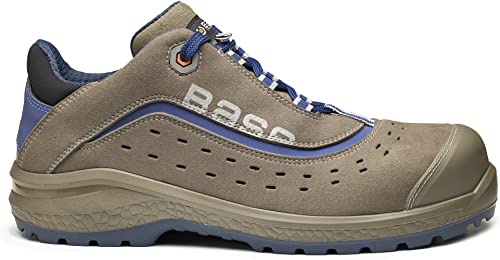 Base BO885 Active S1P Mens Classic Sowie Rutschfeste Sicherheit geschnürt Trainer Schuh