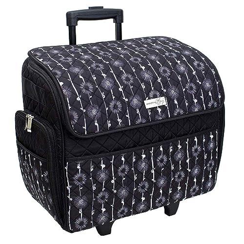 Sewing Machine Trolley Bag Pink Polka Dot 47 x 38 x 24cm Birch 006108-PINK-DOT
