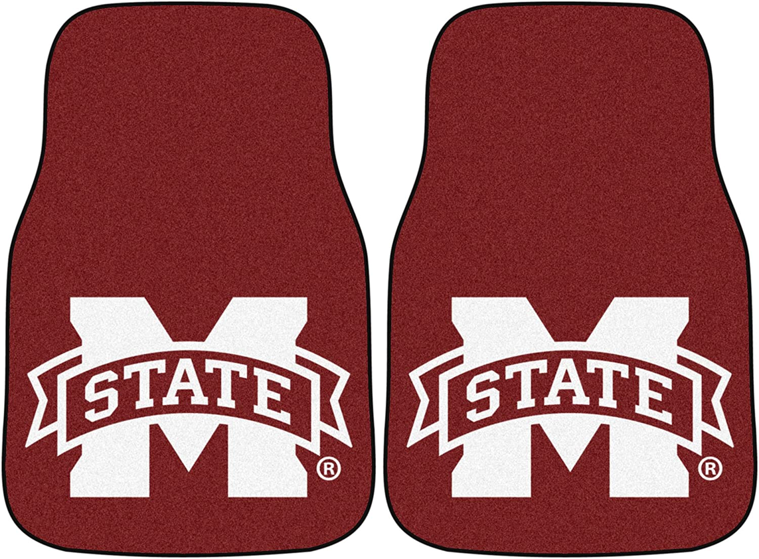 Fanmats Mississippi State Bulldogs Carpeted Car Mats
