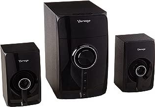 Vorago Spb-300 Bocina 2.1, 35 W, Bluetooth, Inalámbrico y Alámbrico, Color Negro