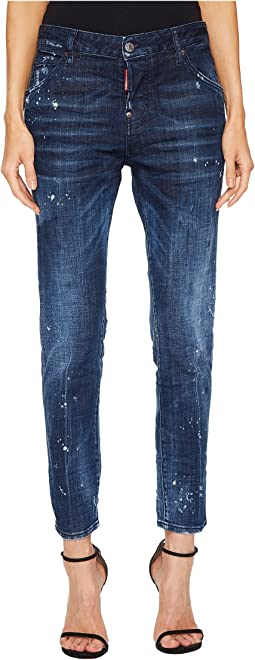 DSQUARED2 - Cool Girl Medium Wash Jeans in Blue