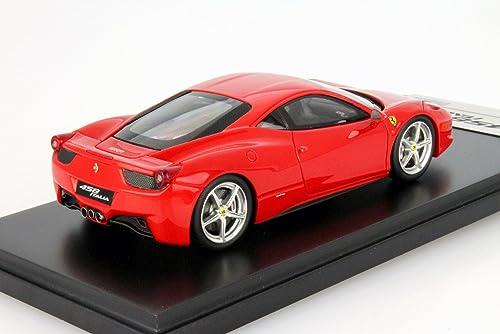 Dickie-Schuco 413312013 - True Scale - Ferrari 458 Italia-2010-1 43 rot Corsa, rot