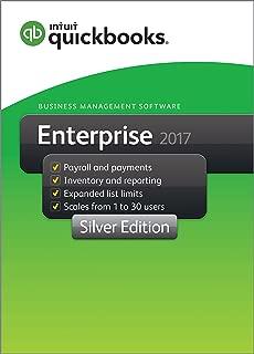 QuickBooks Enterprise 2017 Silver Edition, 1-User (1-year subscription)