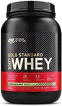 Optimum Nutrition 100% Whey Gold Standard,Chocolate Mint,2lb (0.9 kg)