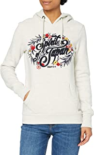 Superdry Folk Floral Hood Sweat à Capuche Femme